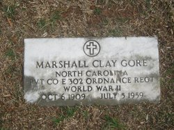 Marshall Clay Gore