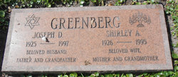 Shirley <i>Albert</i> Greenberg