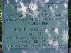 Mary Louisa <i>Read</i> Comfort