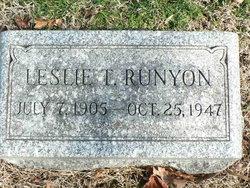 Leslie T Runyon