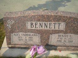 Alys <i>Underland</i> Bennett