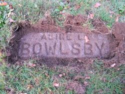 Alice L Bowlsby