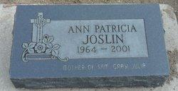 Ann Patricia Joslin