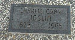 Charles Gray Charlie Joslin
