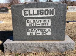 Dr Gayfree Ellison, Jr