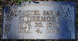 Rachel Sabra <i>Whiteley</i> Creekmore
