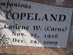 Carlene Wilda <i>Carns</i> Copeland