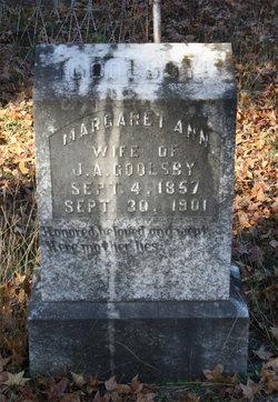 Margaret Ann <i>Murchison</i> Goolsby