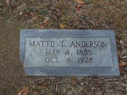 Mattie T. <i>Thompson</i> Anderson