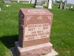 Amanda Melvina <i>Proctor</i> Bird