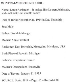 Loren Ashbaugh