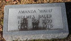 Amanda Maud <i>Holmes</i> Bauer
