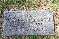 Minnie Estella <i>Logsdon</i> Agee