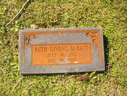 Daisy Ruth <i>Givens</i> DeBatt