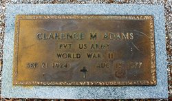 Clarence M. Adams