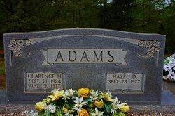 Hazel V <i>Dingler</i> Adams