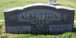 Daniel Webster Albritton