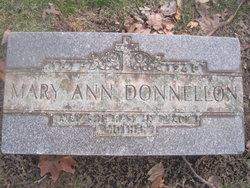 Mary Ann <i>Haggerty</i> Donnellon