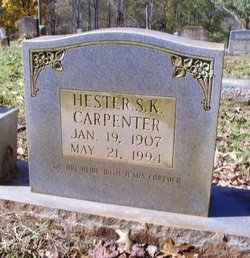 Hester <i>Sanders</i> Carpenter