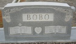 Annie Louise <i>Kemp</i> Bobo