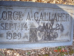 George A Gallaher
