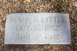 Rev Milton Koger Little