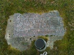 Lois Mae <i>Horton</i> Grimes