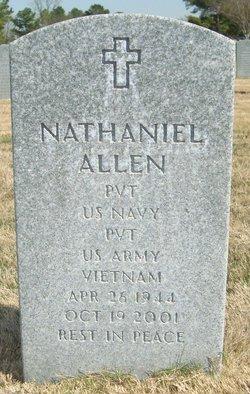 Pvt Nathaniel Allen