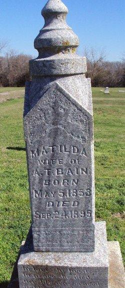 Matilda Florence <i>Rice</i> Bain