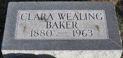 Clara Wealing <i>Norvell</i> Baker