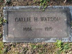 Callie H Watson
