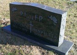 Henrietta Marie <i>Sudrow</i> Ritter