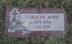 Carolyn April
