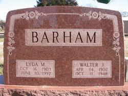 Lydia B Barham