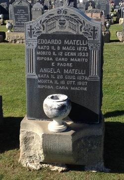 Angela <i>Puccini</i> Matelli