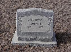 Ruby <i>Daves</i> Campbell
