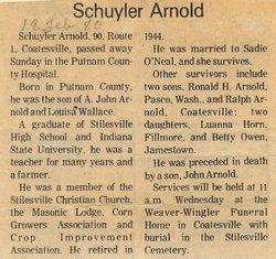 Schuyler Austin Arnold