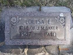 Louisa E. <i>Clark</i> Baker