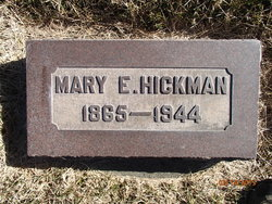 Mary Elizabeth <i>Crawford</i> Hickman