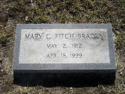 Mary <i>Cadenhead</i> Braden