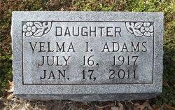 Velma I. Adams
