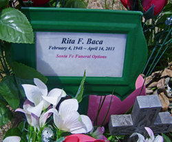 Rita F. <i>Chavez</i> Baca