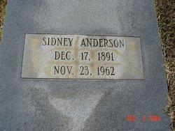 Sidney <i>Dowdy</i> Anderson