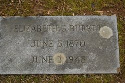Elizabeth Gertrude Bessie <i>Hileman</i> Burket
