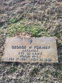 Pvt George Washington Formby