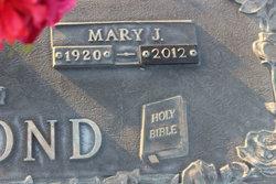 Mary <i>Jones</i> Allmond