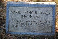Marie <i>Calhoun</i> Baker