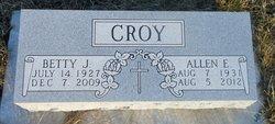 Allen Eugene Gene Croy