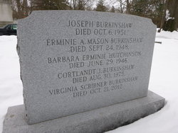 Barbara Erminie <i>Burkinshaw</i> Hutchinson