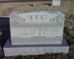 Catherine Virginia <i>Daniel</i> Fee